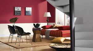 how to paint two colors combination on a wall interior paint