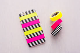 Washi Tape Designs by Give Your Phone Case A Makeover With These 25 Diys