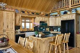 Log Home Kitchen Cabinets - cabin kitchen ideas u2013 subscribed me