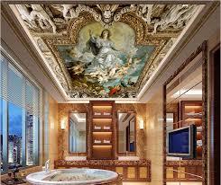 online get cheap angel wall murals aliexpress com alibaba group custom photo 3d ceiling murals wallpaper european mythological figure angelic painting 3d wall murals wallpaper for