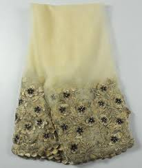 wedding dress material popular flower design wedding dress material beige lace