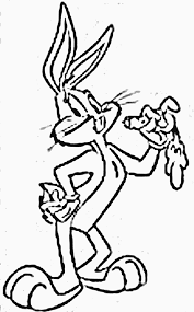 bugs bunny coloring pages coloringsuite com