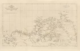 United States Map 1850 by Maps From The Journal Of The Royal Geographical Society Of London