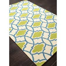 Green Outdoor Rugs Rugada Jaipur Barcelona Moroccan Pattern Polypropylene Blue