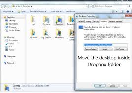 dropbox windows automatically sync your windows desktop with dropbox