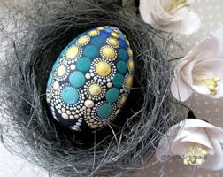 mandala easter egg etsy