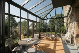 verre pour veranda véranda toiture en verre sur mesure marque schüco sori sas