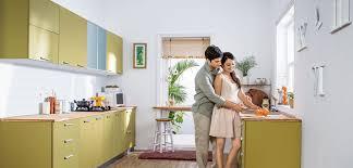 godrej kitchen interiors steel kitchen
