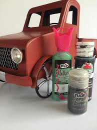 pink glitter car how to make a halloween truck planter jennifer perkins