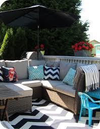 London Drugs Patio Furniture by My House Of Giggles Navy And White Upper Deck Patio Makeover