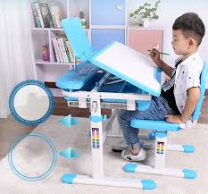 adjustable height kids table multifunctional child learning desk and chair set can adjust the
