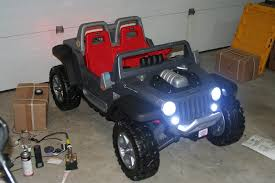power wheels jeep hurricane modifications post your modified kids jeeps power wheels jeep wrangler forum