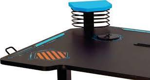 bureau motorisé le viper 3000 d atlantic un bureau gamer motorisé avec led ginjfo