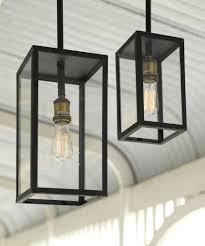 Exterior Pendant Light Southton 1 Light Small Exterior Pendant In Antique Black