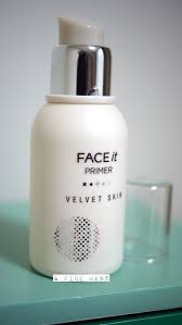 review the face shop face it velvet skin primer a fine mess