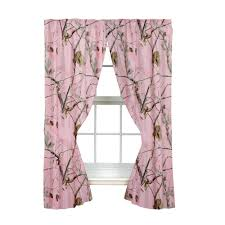 how to create a kids camo bedroom perfect for boys and girls realtree ap pink rod pocket drape 2 panels 2 tie backs 63