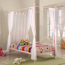 princess canopy beds for girls bedroom sets princess carriage bed for girls rollback