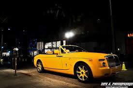 yellow rolls royce the 1 6 million rolls royce drophead coupe by bijan