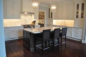 espresso kitchen island gorgeous two tone kitchen design with floor to ceiling white