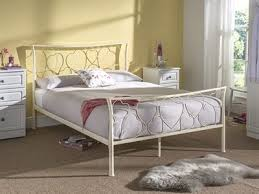 metal bed frames single double and king at mattressman