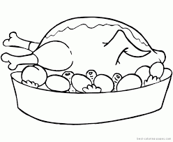 last minute thanksgiving food coloring pages foods printables many