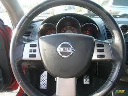 nissan altima 2005 ser 2005 nissan altima 3 5 se r se r charcoal steering wheel photo