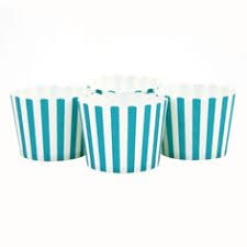 candy cups wholesale yellow striped candy cups 24 pack dmc52304 cupcake wrappers