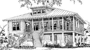 southern raised cottage house plans house and home design