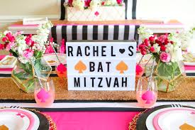 bat mitzvah giveaways spade inspired bat mitzvah decor ideas made easy with cricut plus