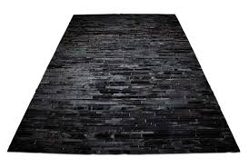 Black Striped Rug Black Striped Patchwork Cowhide Rug Design By Shine Rugs In 9x12ft