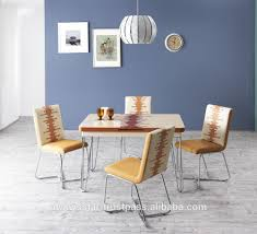 glass modern dining table space saving white tempered glass modern dining table and chair