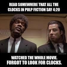 Pulp Fiction Memes - pulp fiction weed meme 4 20 marijuana weed pinterest meme