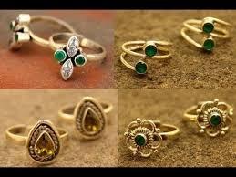 buy online rings images Online buy designer gold toe rings for women toe rings designs jpg