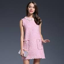 dresses designer womens clothing pink party dress women night