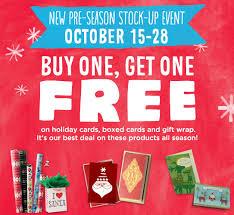 free is my hallmark bogo free sale on gift wrap boxed