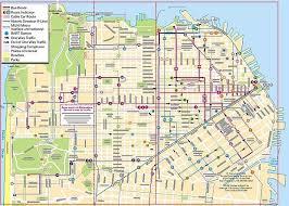 map of usa states san francisco san francisco cable car map san francisco california muni