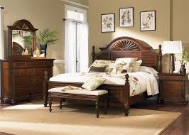 Liberty Furniture Industries Bedroom Sets Royal Landing Poster Bed 6 Piece Bedroom Set In Tobacco Finish By