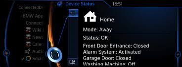 bmw car signs samsung signs up bmw for smart home