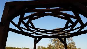 Swing Fire Pit by How To Build A Hexagonal Swing With Sunken Fire Pit