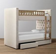 Upholstered Bunk Beds Bunk Bed Upholstered Beds And Bedrooms - Upholstered bunk bed