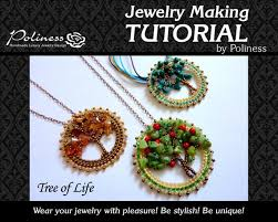 diy beaded pendant necklace images Step by step tutorial jewelry making beaded pendant etsy jpg