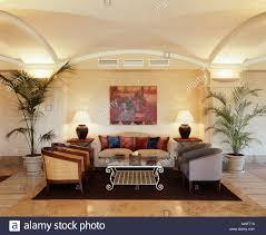 Wandlampen Wohnzimmer Modern Country Interiors Livingrooms Modern Stockfotos U0026 Country