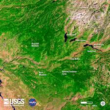 Eros Map Views Of The News Earth Resources Observation And Science Eros