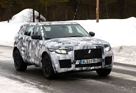 new land rover defender spy shots spyshots land rover surprises us with odd mule photo gallery