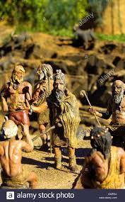 model village models figures tiny small people ancient cavemen