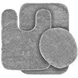 Silver Bath Rugs Amazon Com Silver Bath Rugs Bath Home U0026 Kitchen