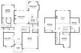 floor plans architecture architectural house design modern plans fareham winchester 12