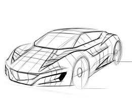 výsledek obrázku pro how to draw car sketch drawing cars