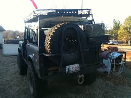homemade jeep bumper swing away tire carriers pics please pirate4x4 com 4x4 and