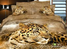 colorful mart african leopard yellow bedding animal print bedding
